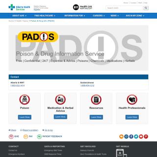 poisonDrugInformationServices